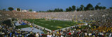 High Angle View of a Football Stadium Full of Spectators  the Rose Bowl  Pasadena
