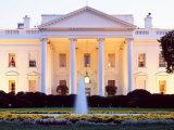 Washington DC  White House  Twilight