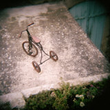 High Angle View of a Tricycle  France