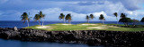 Golf Course at the Seaside  Hawaii  USA