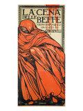 """Theatre Bill for """"La Cena Delle Beffe"""""""
