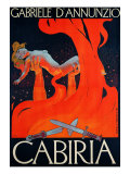 "Film Poster for ""Cabiria"""