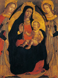 Madonna and Child Between St Apollonia and St Lucy