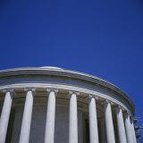 Low Angle View of a Building  Jefferson Memorial  Washington DC  USA