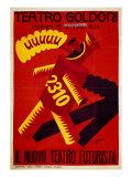 Poster of Nuovo Teatro Futurista (Goldoni Theatre)