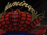 High Section View of a Casino  Flamingo Casino  Las Vegas  Nevada  USA