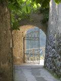 Gate of a Villa  Ravello  Salerno  Campania  Italy