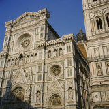 Low Angle View of a Cathedral  Duomo Santa Maria Del Fiore  Florence  Italy