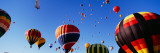 Hot Air Balloons at the International Balloon Festival  Albuquerque  New Mexico  USA