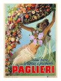 """Advertising Poster """"Dai Fiori Le Ciprie I Profumi Paglieri"""""""