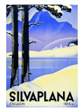 Advertising Poster Silvaplana