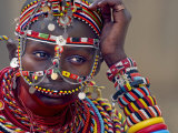Portrait of a Samburu Maiden