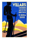 Advertising Poster for Villars