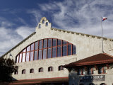 Low Angle View of an Amphitheater  Cowtown Coliseum  Fort Worth Stockyards  Fort Worth  Texas  USA