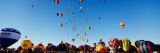 Hot Air Balloons at the International Balloon Festival  Albuquerque  New Mexico  USA
