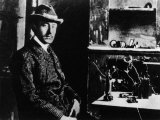 Guglielmo Marconi with His First Radio