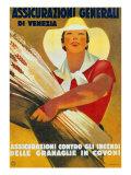 Assicurazioni Generali Di Venezia (Against Sheaf-Wheat Fires)