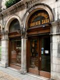 Umberto Saba Antiquarian Bookshop in Trieste