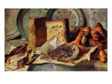 Still Life with Cheese and Salami