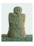 Sandstone Statue Stele