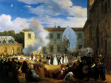 Chateaubriand Receives Paulovna Elena in the Garden of Villa Medici in Rome on 29 April 1829