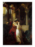 The Last Kiss Given by Romeo to Juliet