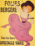 "Poster for ""Folies Berger"""