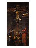 Crucifixion (Christ on the Cross with the Virgin  St John and St Dominic)