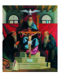 The Trinity with St Augustine and the Blessed Giorgio Da Cremona