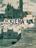 Poster of Siena Celebrations in August 1901