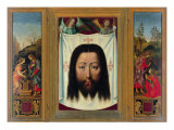 Triptych of Francesco Del Pugliese (Christ and the Samaritan Veil of Veronica Noli Me Tangere)