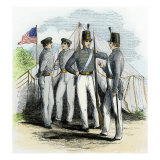 Cadets at the Us Military Academy  West Point  1850s