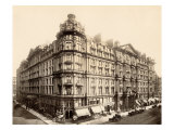 The Palmer House on the Corner of State and Monroe Streets  Chicago  1890s