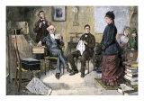 Prospective Teacher Interviewed by a Rural School Board  1870s