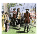 Nathan Hale Hanged by the British as a Spy  1776