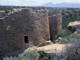 Anasazi Ancestral Puebloan Ruins at Howenweep National Monument  Utah