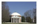 Rotunda of the University of Virginia  Designed by Thomas Jefferson  Charlottesville