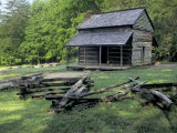 Log Cabin of John Oliver  Built in the 1820s  Great Smokey Mountains National Park  Tennessee