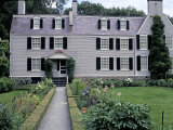 Home of John Adams and His Family  Now a National Historical Park  Quincy  Massachusetts
