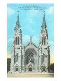 Basilica of Ste Anne de Beaupre  Quebec