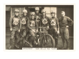 1935 Motorcyle Race Team