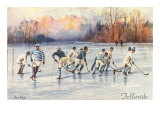 Vintage Ice Hockey  Telluride  Colorado