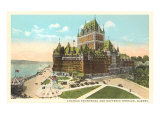 Chateau Frontenac  Dufferin Terrace  Quebec