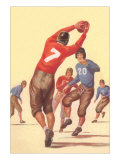 Vintage Football Player