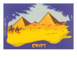 Stylized Pyramids and Camels