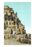 Victorians on Great Pyramid