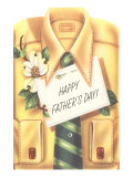 Happy Father's Day Shirt  Tie  Gardenia