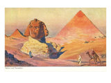 Sphinx and Pyramids  Egypt