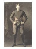 Vintage Football Player