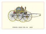 Pearl Hose Vintage Fire Wagon